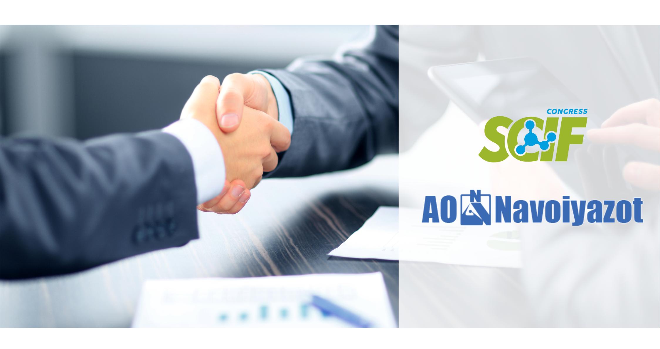SCIF Congress и АО «Navoiyazot» подписали МЕМОРАНДУМ о сотрудничестве