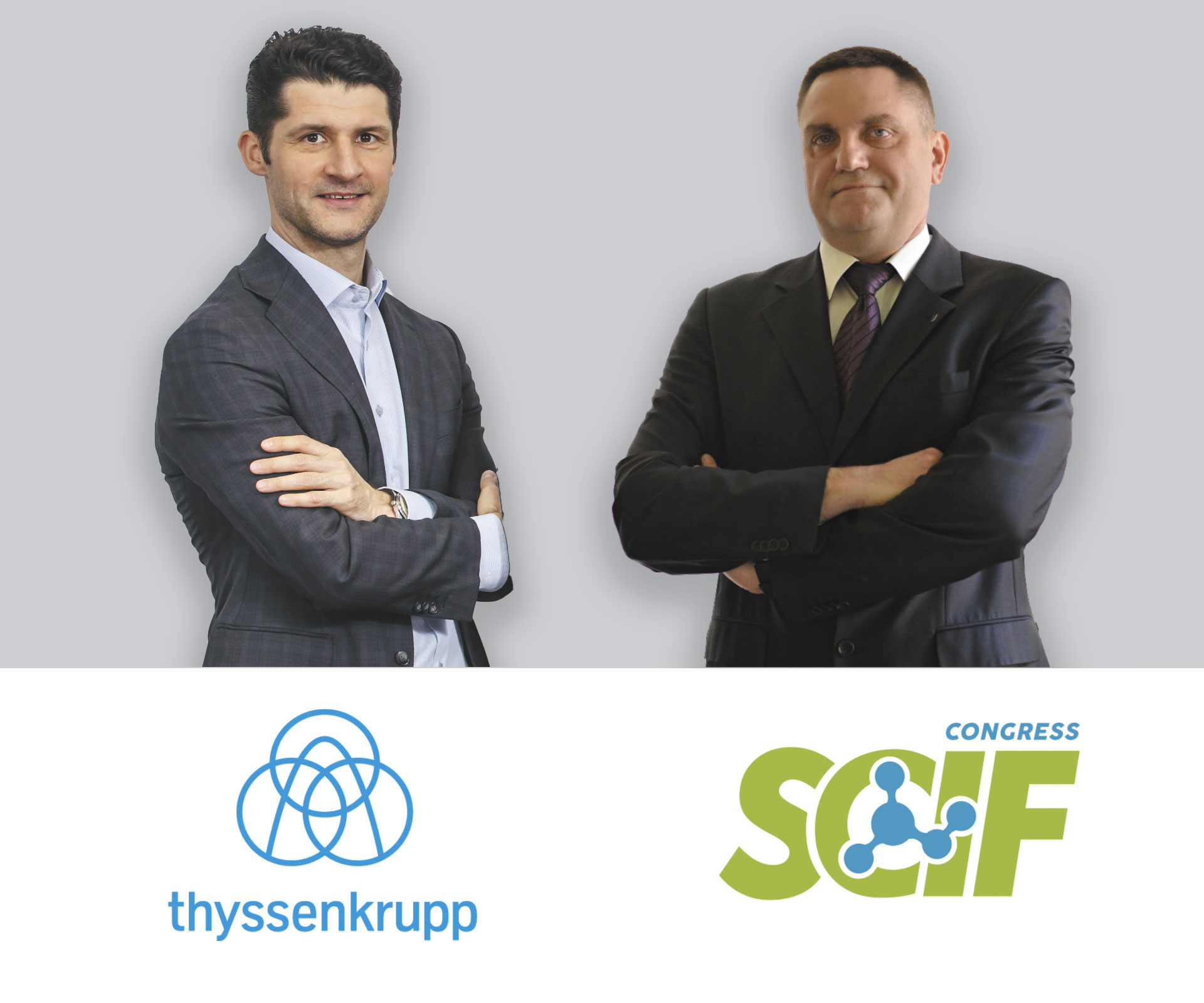 The Memorandum about cooperation was signed between SCIF Congress and thyssenkrupp Industrial Solutions representative office